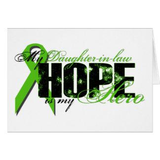 Nuera mi héroe - esperanza del linfoma tarjeton