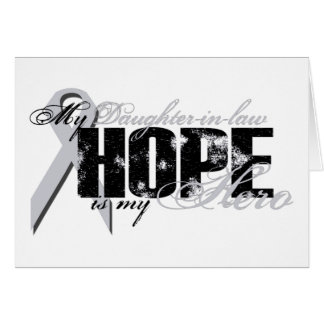 Nuera mi héroe - esperanza del pulmón tarjetón