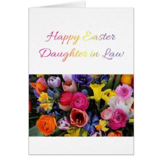 Nuera Pascua feliz Tarjeta De Felicitación