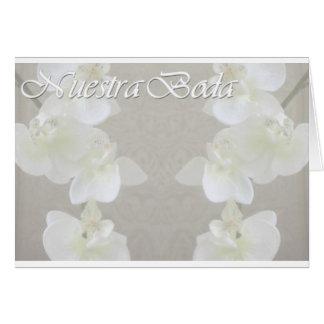 nuestra_boda tarjeta de felicitación