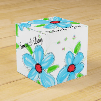 Nuestra caja del favor de la huésped del boda