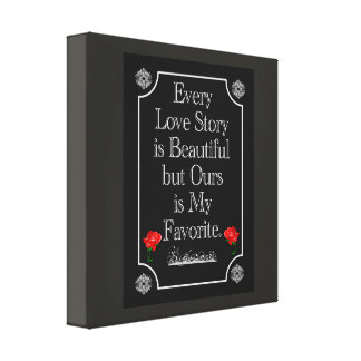 Nuestra historia de amor -- Arte de la lona