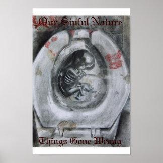 nuestra naturaleza pecadora posters