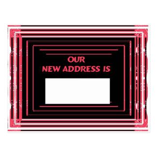Nuestra nueva dirección es postal
