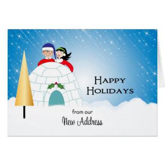 Nuestra nueva tarjeta de Navidad de la dirección