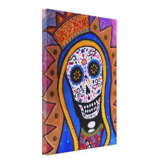 Nuestra señora de Guadalupe Dia de los Muertos Impresiones De Lienzo