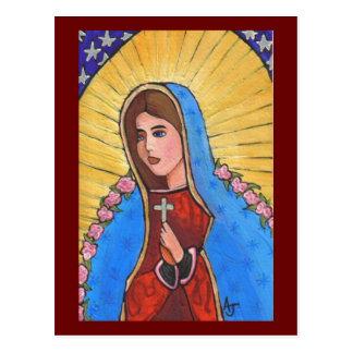 Nuestra señora de Guadalupe - postal
