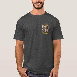 Nuestra señora de Guadalupe y de la camiseta del