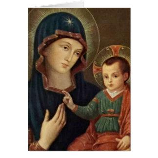 Nuestra señora del niño Jesús de la consolación Tarjeta