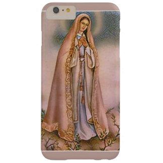 Nuestra señora del Virgen María de Fátima Funda Barely There iPhone 6 Plus