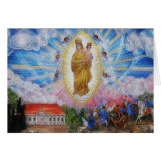 Nuestra señora Of Prompt Succor Prayer Tarjeta De Felicitación