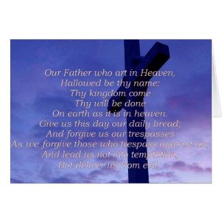 Nuestra tarjeta de felicitación del padre