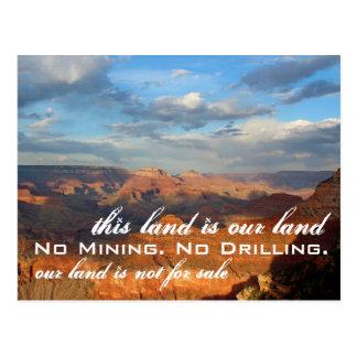 Nuestra tierra: Postal del Gran Cañón