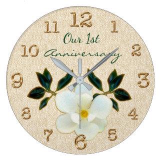 Nuestro 1r reloj del aniversario o SU TEXTO o