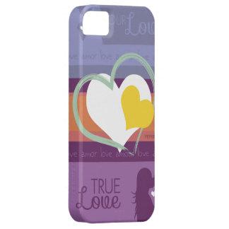 Nuestro amor iPhone 5 Case-Mate cárcasa