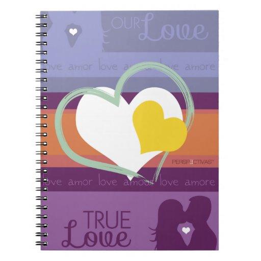 Nuestro amor libro de apuntes