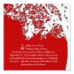 Nuestro árbol, invitación del boda de la invitación 13,3 cm x 13,3cm