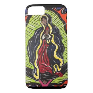 Nuestro caso del iPhone 7 de señora Of Guadalupe Funda Para iPhone 8/7