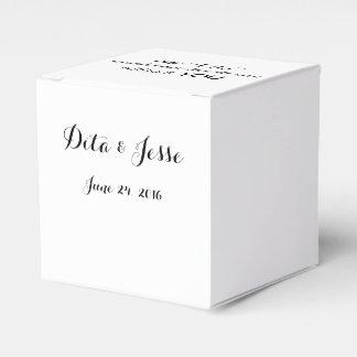 Nuestro hago no sería igual sin usted los favores caja de regalos