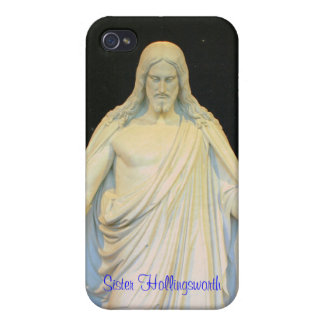 Nuestro señor el Cristo Christus Consolator iPhone 4 Cárcasas