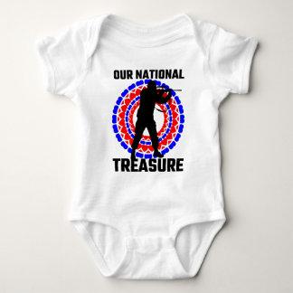 Nuestro tesoro nacional body para bebé