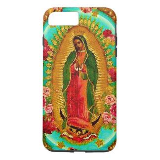 Nuestro Virgen María mexicano del santo de señora Funda Para iPhone 8 Plus/7 Plus