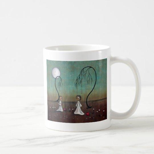 Nuestros corazones taza de café