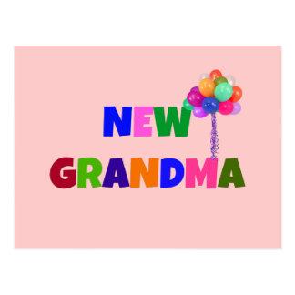 Nueva abuela tarjeta postal