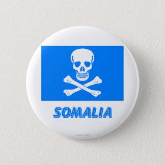 Nueva bandera de Somalia (esto es un chiste!) Chapa Redonda De 5 Cm