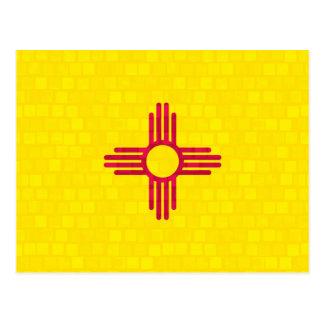 Nueva bandera mexicana del modelo moderno postal