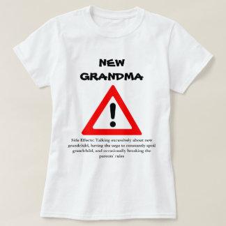 Nueva camisa divertida de la abuela