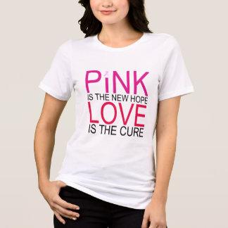 Nueva camisa rosada de la conciencia del cáncer de