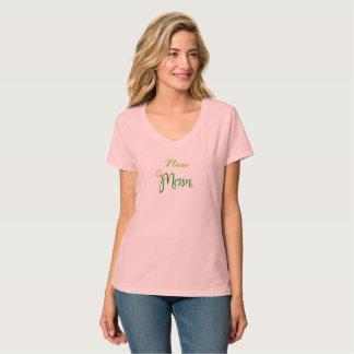 Nueva camiseta de la mamá