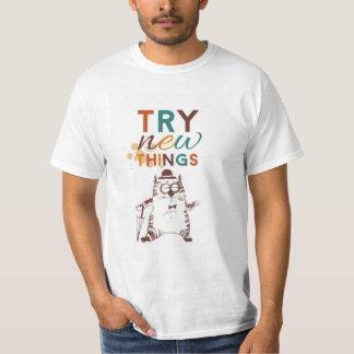 Nueva camiseta de las cosas del intento