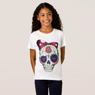 nueva camiseta del cráneo del azúcar de la escuela