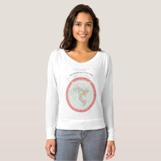 NUEVA camiseta del MAPA DEL MUNDO de GLEASON -