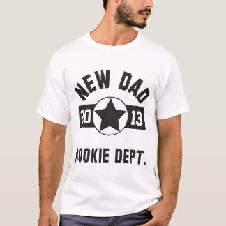 Nueva camiseta novata del papá