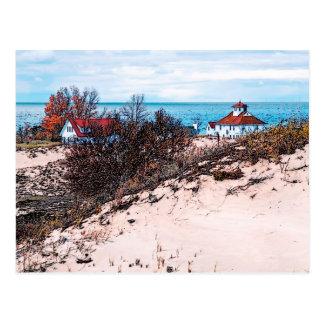 Nueva casa de playa postales