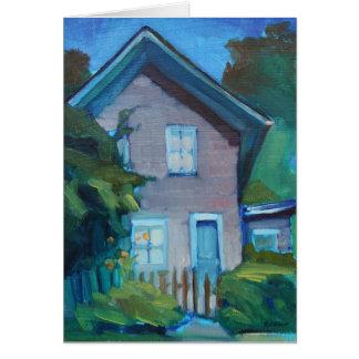 Nueva casa feliz - tarjeta para el vecino o el due