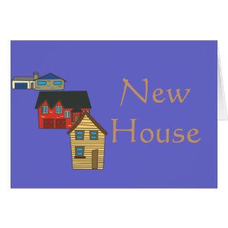 Nueva casa que se calienta > tarjeta de felicitaci