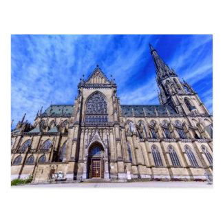 Nueva catedral, Linz, Austria Postal