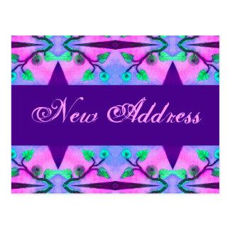 Nueva dirección floral postal