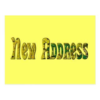 Nueva dirección postal