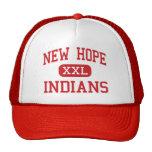 Nueva esperanza - indios - alta - nueva esperanza  gorras de camionero