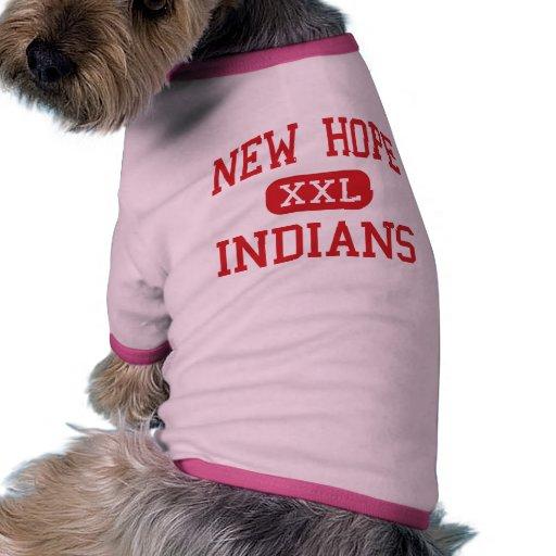 Nueva esperanza - indios - alta - nueva esperanza  camiseta de mascota
