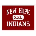Nueva esperanza - indios - alta - nueva esperanza  tarjeta postal