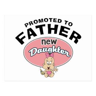 Nueva hija del nuevo padre postal