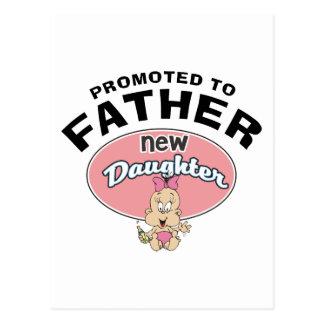 Nueva hija del nuevo padre postales