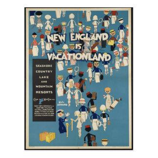 Nueva Inglaterra es postal de Vacationland