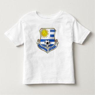 Nueva insignia de Futbol de las fans de Uruguay Camiseta De Bebé